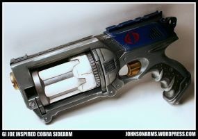 Cobra Commander Maverick Gun by RoyallyCrimson
