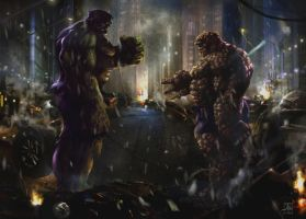cloberin time with hulk by rudyao