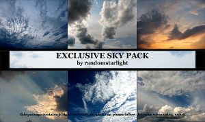 Exclusive sky pack by randomstarlight