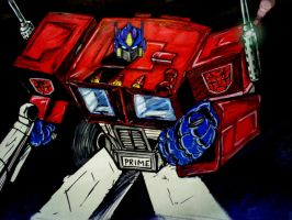 Optimus Prime :REMIX by papabear7