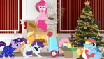 Mane 6 On Christmas Morning by Mr-Kennedy92