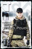 RAP4 Molle Radio Pouch by RealActionPaintball