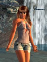 Donna Waterfall 1a by donnaDomenitzo