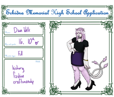 Dawn Welk Application by vynn-beverly