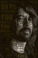 Dave Grohl Foo Fighters by GothX2410