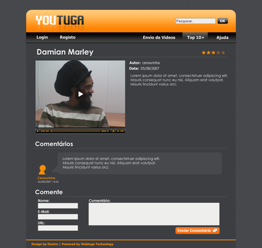 Youtuga Design - Single Entry by d3x7r0
