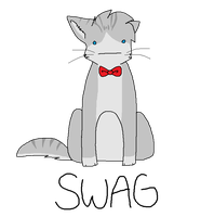 Jayfeather In A Bowtie by lava-java