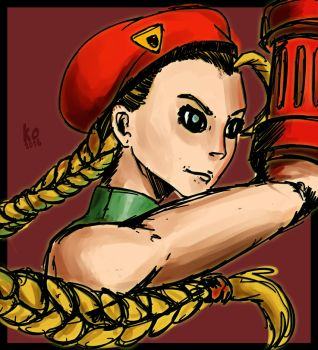 CAMMY STREET FIGHTER. by KylianaOrnisis