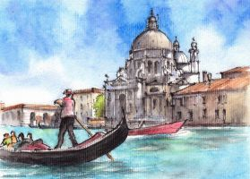 Venice Sketch by Kot-Filemon