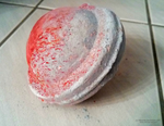 Soap sphere Saturn - red tone by Tazunee