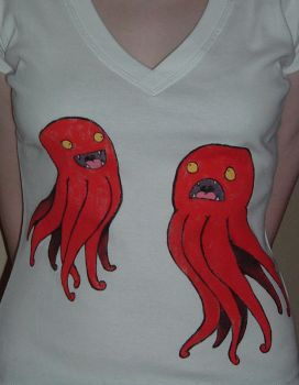 Octo shirt by frowzivitch