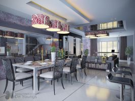 LIVING AND DINING ROOM 1 by TANKQ77
