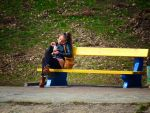 Girl on the Bench by t-maker