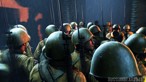 Go to the front line. by RussianBear2345