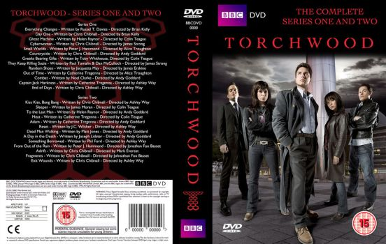 Torchwood: Series 1+2 (Fan cover) by OliverGeary