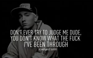 Eminem quote by Fancyshark14
