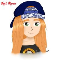 Axl Rose by Princesa-Saiyajin