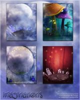 Imaginations Backgrounds by cosmosue