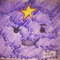 Napkin Art 129 - Oh My Glob - LSP Adventure Time by PeterParkerPA