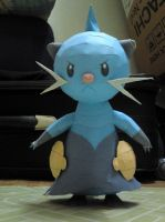 Dewott Papercraft 1 by riolushinx