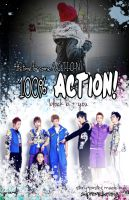 Block B- 100% Action! by supremepanda