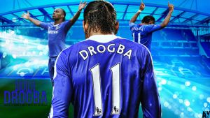 Didier Drogba Wallpaper by AY by AyBenoit12