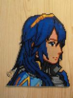 Lucina FEA Portrait Perler Beads by Cimenord