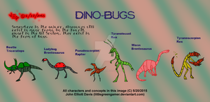 Alt Planet 04 - Dino-Bugs by LittleGreenGamer