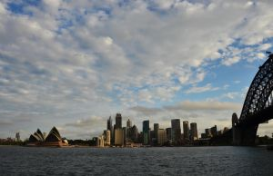 Sydney Harbour by honda-vfr