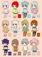 Mixed Adopts $2/200pts + pixel icons [OPEN] by inafu