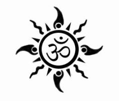 OM-Sun tattoo by DeSi-PriNcE