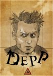 Johnny Depp by Bokula