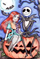 The Nightmare before Christmas by foxycleo