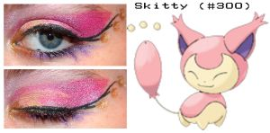 Pokemakeup 300 Skitty by nazzara