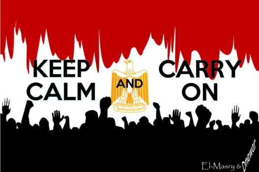 Egyptians Keep Calm by ShurumiTattoomi