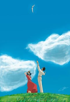 Le Vent Se Leve - Kaze Tachinu - The Wind Rises by Kenobi-wan