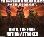 Until The FNAF Nation Attacked by xLonaLovex