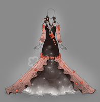 Flower Dress Design - closed by Nahemii-san