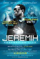 Jeremih Live Flyer by AnotherBcreation