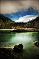 man from crater by jfarchaul