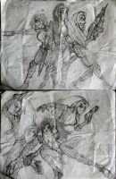 JJJ First Drawings by PhiTuS