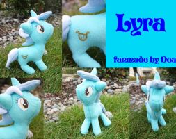 Fanmade Lyra Plushy by Dea by bluepaws21