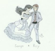 Sango and Roy - Dance with me by PrinceRoy1990