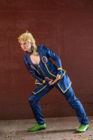 Giorno Pose 1 by gaming-goddess