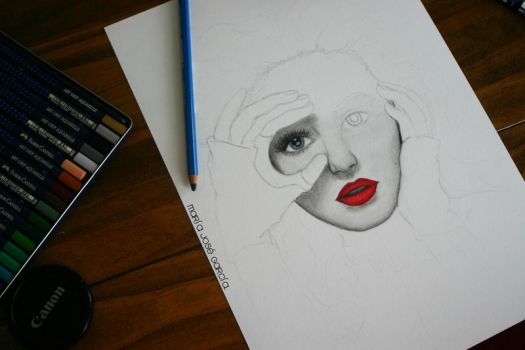Christina Aguilera wip. by MJSweetDreams