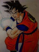 Dragon Ball Z - Goku by Ticker360