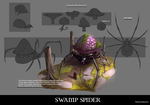 Swamp spider concept by RobertoGatto