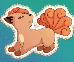 Vulpix by MiseryLolita