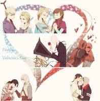 Happy valentine day by LKiKAi