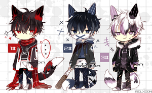 [AUCTION*CLOSED]Lineheart*38[MAFIA] by Relxion-kun